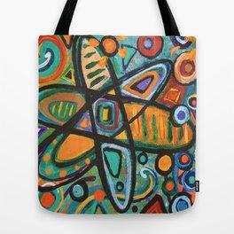 Molecular Structure Tote Bag