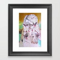 g a i n Framed Art Print