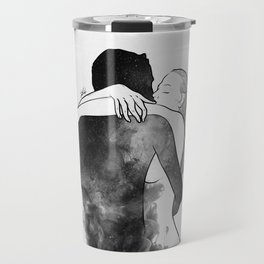 I am the luckiest to have you. Travel Mug