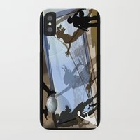 volleyball iPhone & iPod Cases featuring Anyone For Volleyball? by Tami Cudahy