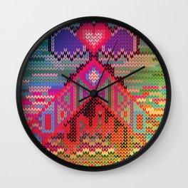 pyramid heart Wall Clock