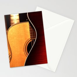 Guitars Stationery Cards
