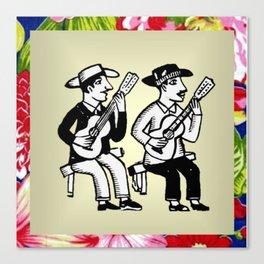 CordelMusic by Chikita Canvas Print