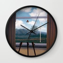 The Human Condition - Rene Magritte Wall Clock