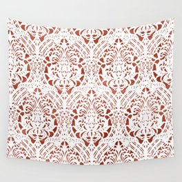 Sanguine Vintage Pattern Wall Tapestry