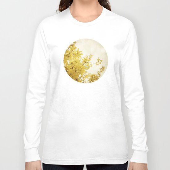 Dreamy Forsythia  Long Sleeve T-shirt
