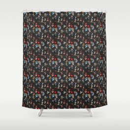 Horror Icon Awww-bominations Shower Curtain
