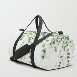Eucalyptus Watercolor Duffle Bag
