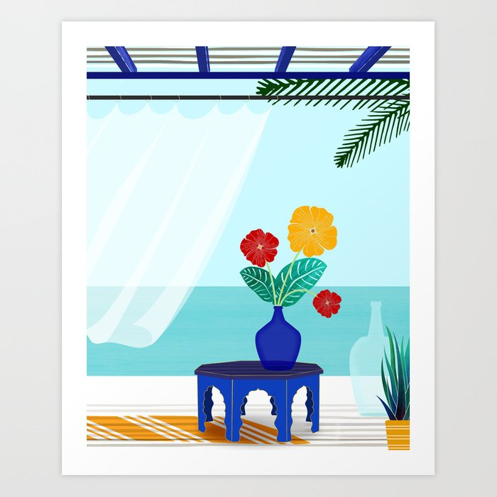 Bali Views Art Print