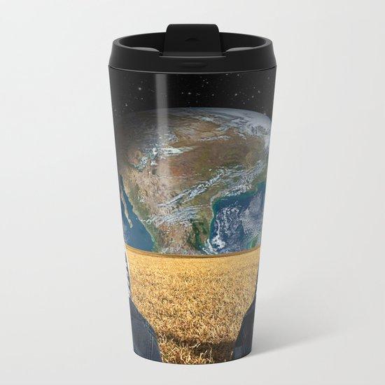 World view Metal Travel Mug