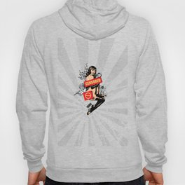 A Censored Sexy Woman Vintage Graphic Hoody