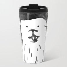 fluffy dog Travel Mug