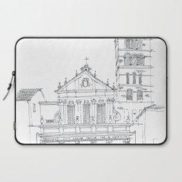 Basilica di Santa Cecilia in Trastevere Laptop Sleeve