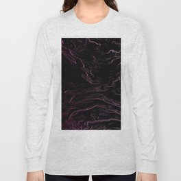 Abstrac liquid Long Sleeve T-shirt