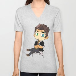 Handsome Jack  Unisex V-Neck
