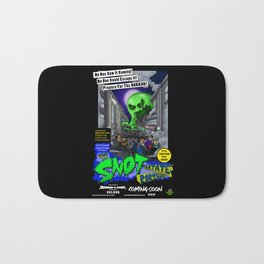 The Snot That Ate Port Harry poster Bath Mat