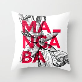 Mangaba Throw Pillow