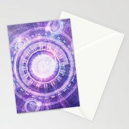 Blue Fractal Alchemy HUD for Bending Hyperspace Stationery Cards
