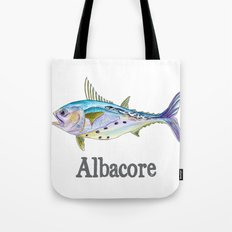 A is for Albacore Tote Bag