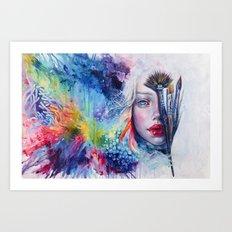 Coralized Art Print