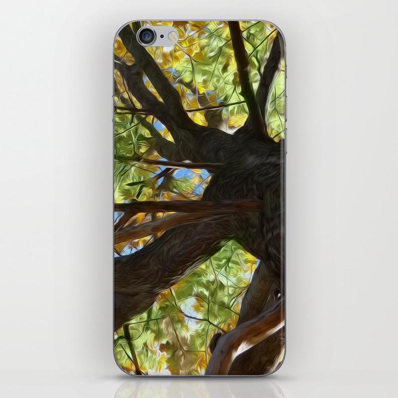 The Mighty Oak Iphone & Ipod Skin by Lidkas PSK8279452