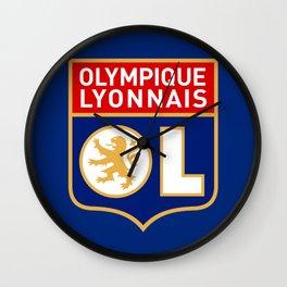 Olympique Lyonnais Wall Clock