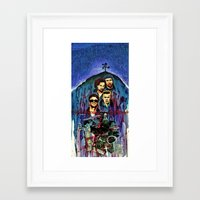 u2 Framed Art Prints featuring U2 by kenmeyerjr