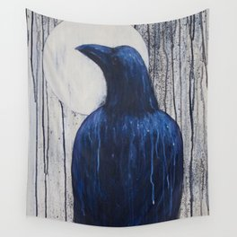 Raven Moon Wall Tapestry