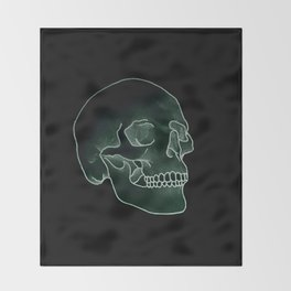 Made of Emerald Throw Blanket