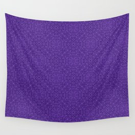 Organic on purple Wall Tapestry