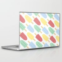 popsicle Laptop & iPad Skins featuring Popsicle by Laura Barclay