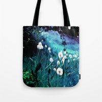 coconut wishes Tote Bags featuring Wishes by Nev3r