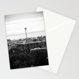 Dear Space Needle, I miss you. Stationery Cards