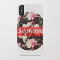 supreme iPhone & iPod Cases featuring Supreme Circle  by Massero Project