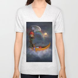 The daysleeper and his companions Unisex V-Neck
