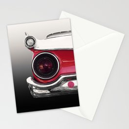 US American classic car 1959 fair lane 500 galaxie  Stationery Cards