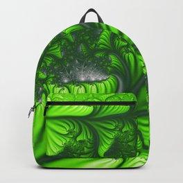 Jungle fractal Backpack
