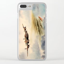 Avro Lancaster Aircraft Clear iPhone Case