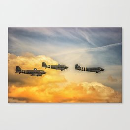 Airshow Canvas Print