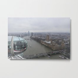 London's Eye Metal Print