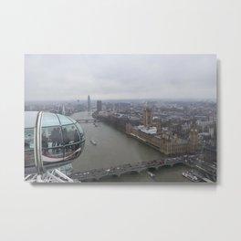 London's Eye Metal Print