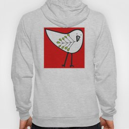 Bringing Home the Tree: Red Hoody