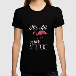 Flamingos Attitude T-shirt