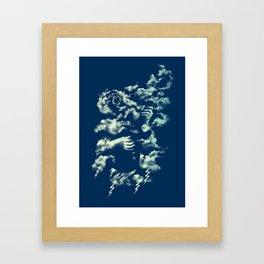 Air Guitar Framed Art Print
