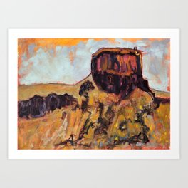 Rise and Shine Golden, Colorado Art Print