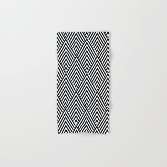 Triangles in Diamonds Hand & Bath Towel