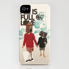 ALL IS FULL OF LOVE Slim Case iPhone (4, 4s)