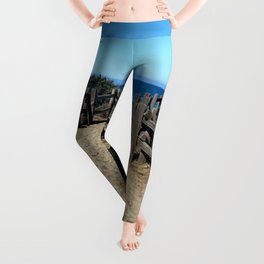 Footprints to the Beach Leggings
