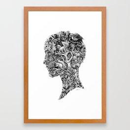 Portrait of Autumn Framed Art Print