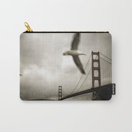 Seagulls over Sausalito Carry-All Pouch